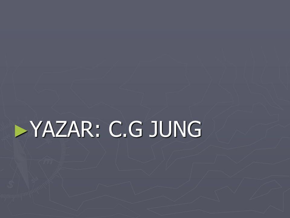 YAZAR: C.G JUNG