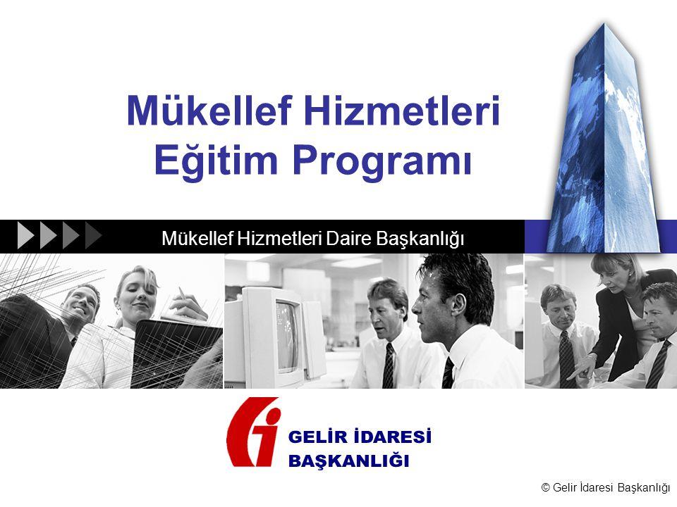 Mükellef Hizmetleri Eğitim Programı