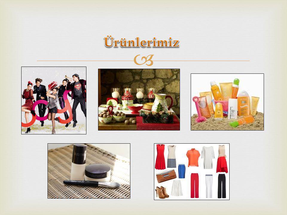 Ürünlerimiz