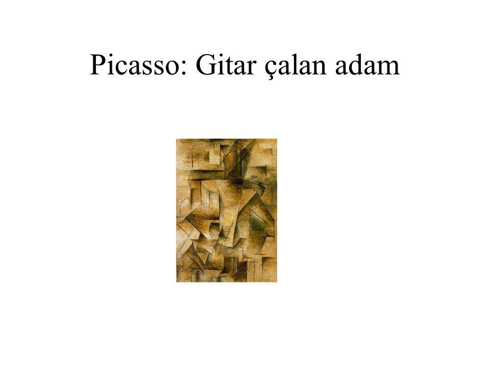 Picasso: Gitar çalan adam