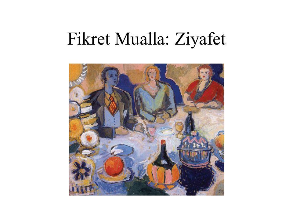 Fikret Mualla: Ziyafet