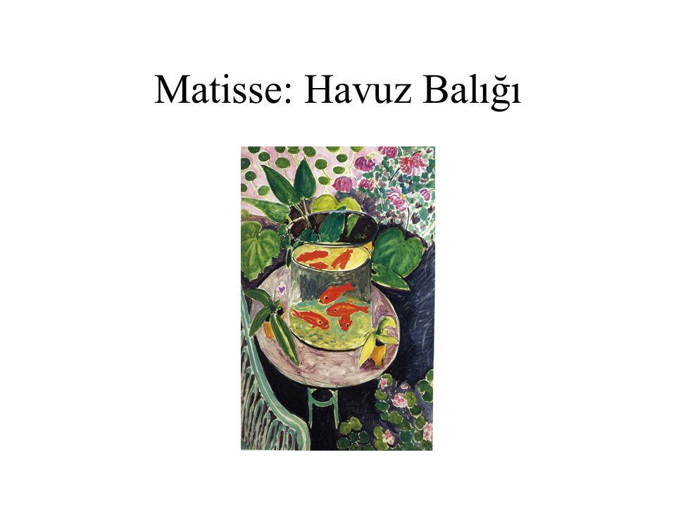 Matisse: Havuz Balığı