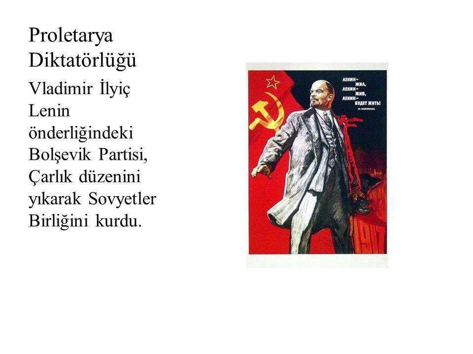 Proletarya Diktatörlüğü