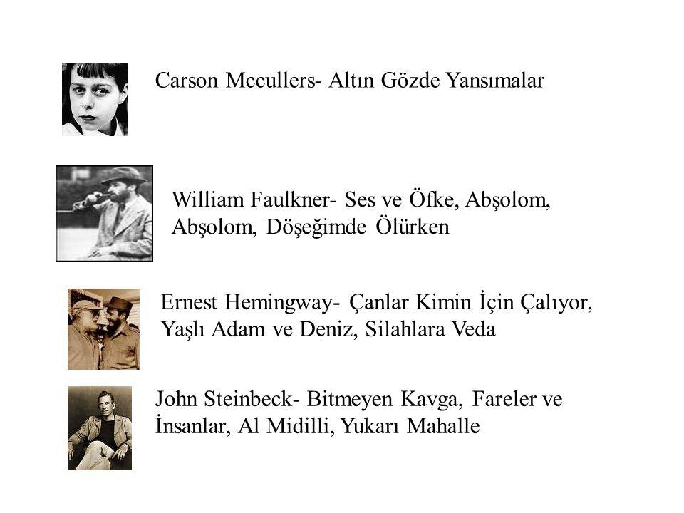 Carson Mccullers- Altın Gözde Yansımalar