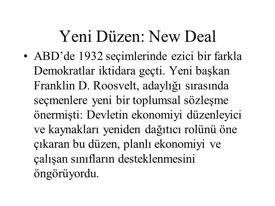 Yeni Düzen: New Deal