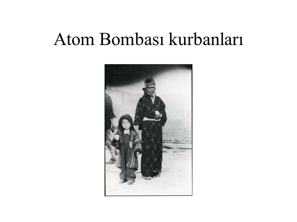 Atom Bombası kurbanları