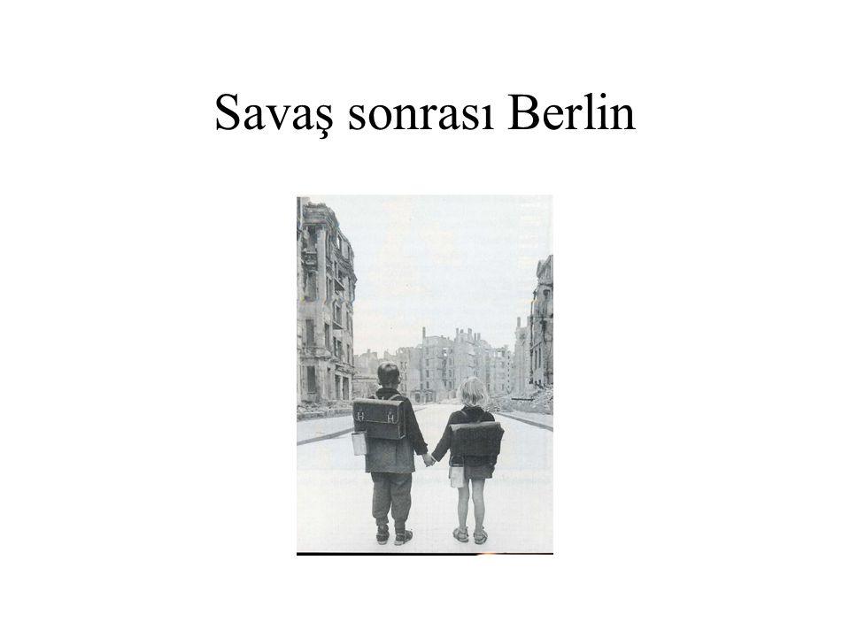 Savaş sonrası Berlin