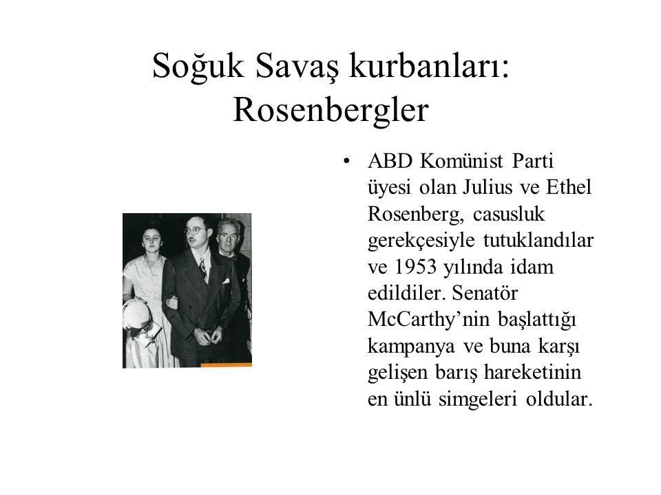 Soğuk Savaş kurbanları: Rosenbergler