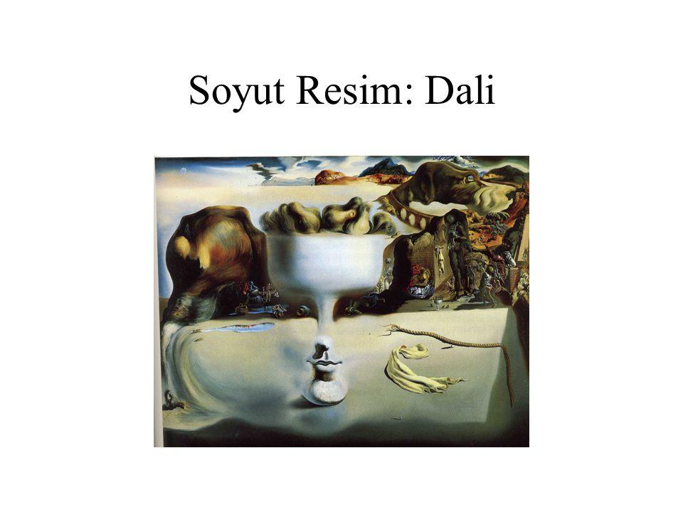 Soyut Resim: Dali