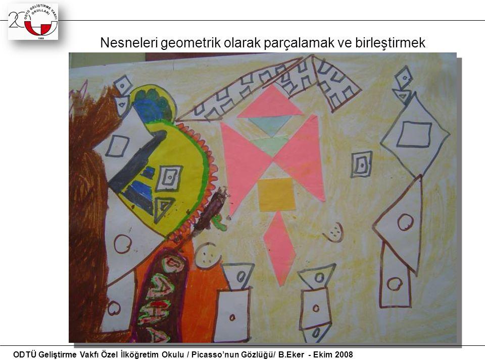 Nesneleri geometrik olarak parçalamak ve birleştirmek