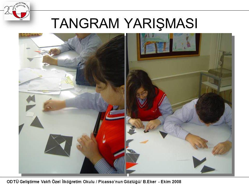 TANGRAM YARIŞMASI Tangram şeliklleri gösteri slayt