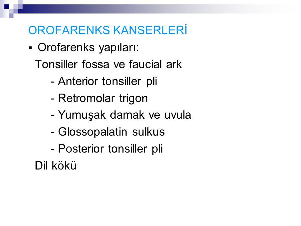 OROFARENKS KANSERLERİ