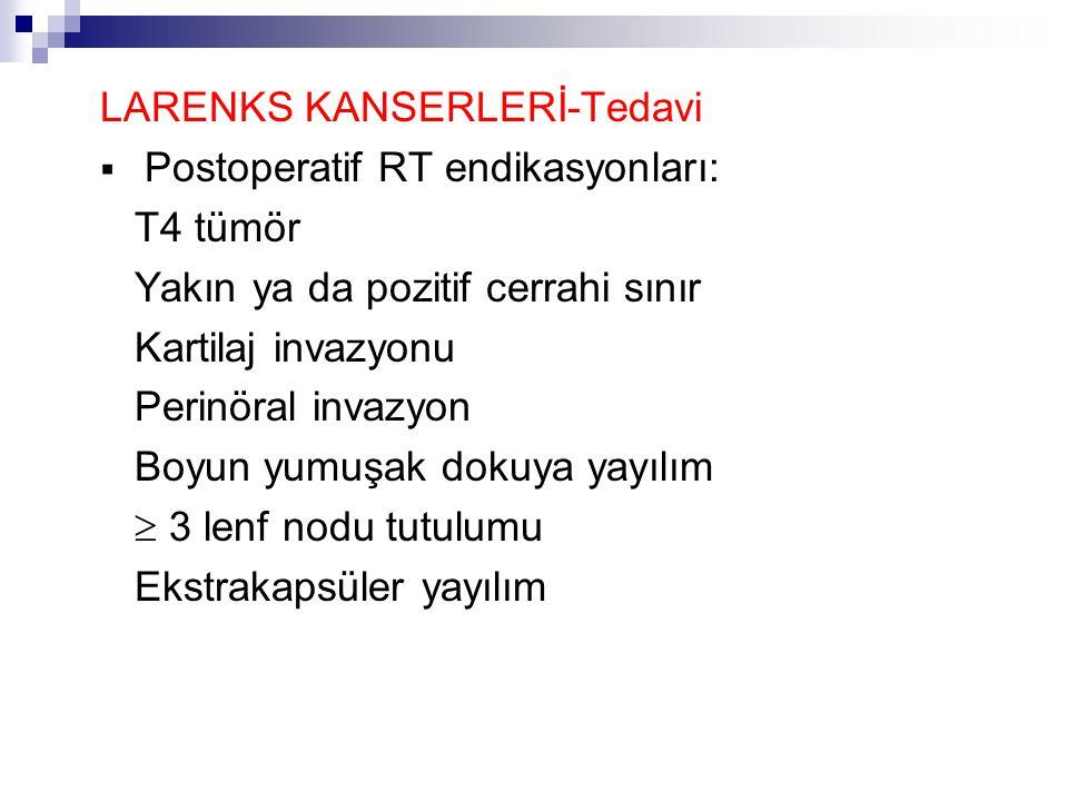 LARENKS KANSERLERİ-Tedavi