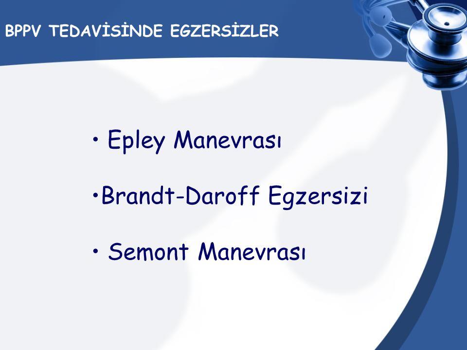 BPPV TEDAVİSİNDE EGZERSİZLER