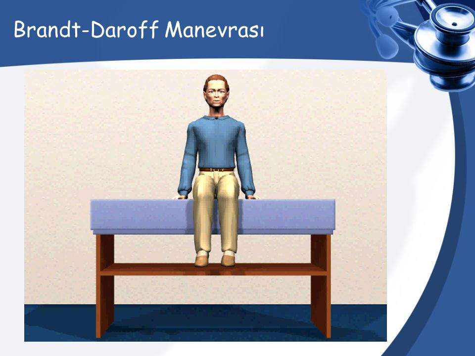Brandt-Daroff Manevrası