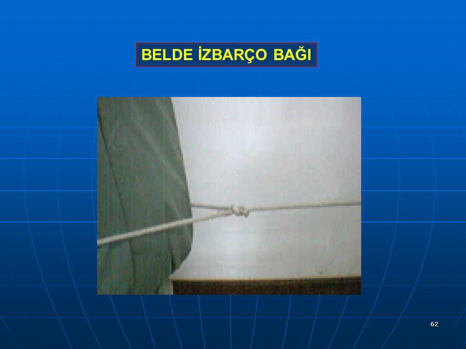BELDE İZBARÇO BAĞI