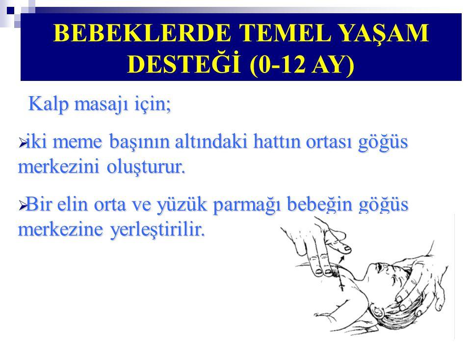 BEBEKLERDE TEMEL YAŞAM DESTEĞİ (0-12 AY)