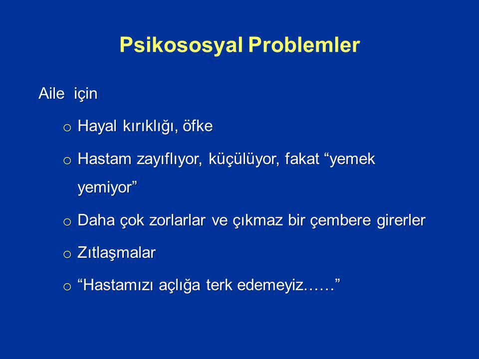 Psikososyal Problemler