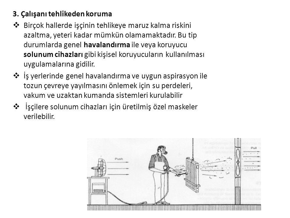 3. Çalışanı tehlikeden koruma