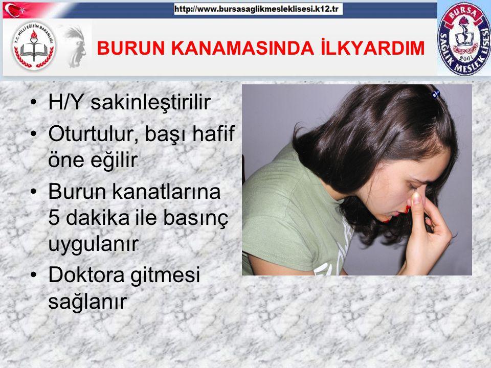 BURUN KANAMASINDA İLKYARDIM