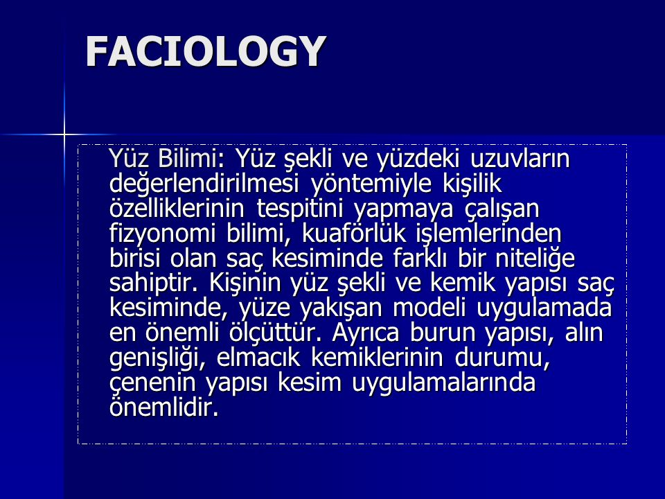 FACIOLOGY