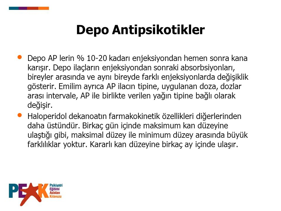 Depo Antipsikotikler