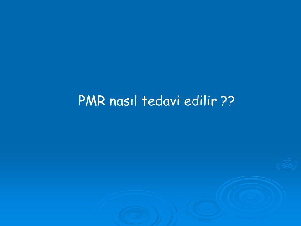 PMR nasıl tedavi edilir