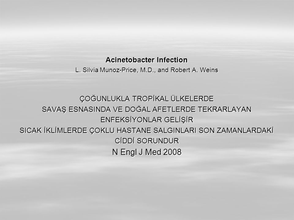 Acinetobacter Infection