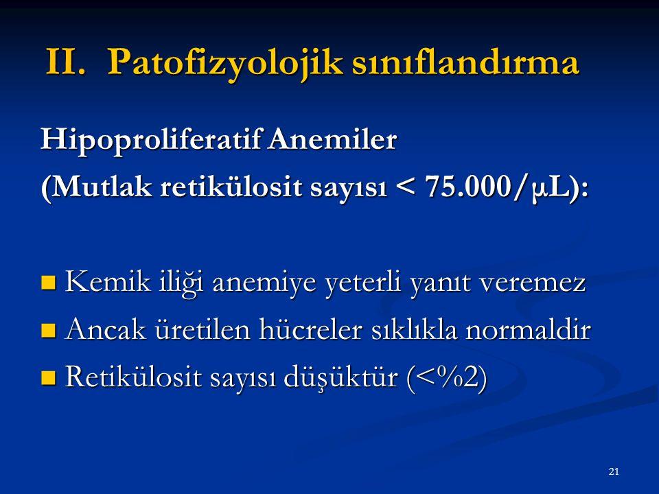 Patofizyolojik sınıflandırma