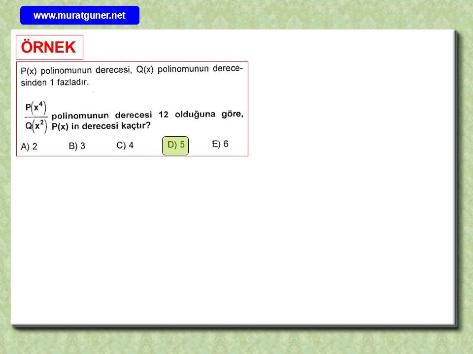 www.muratguner.net ÖRNEK