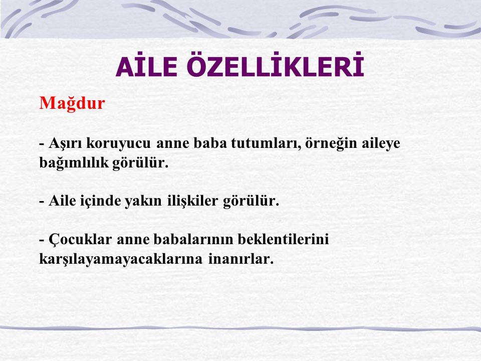 AİLE ÖZELLİKLERİ