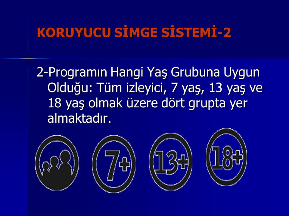 KORUYUCU SİMGE SİSTEMİ-2