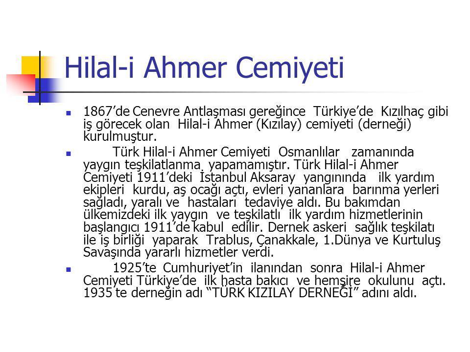Hilal-i Ahmer Cemiyeti