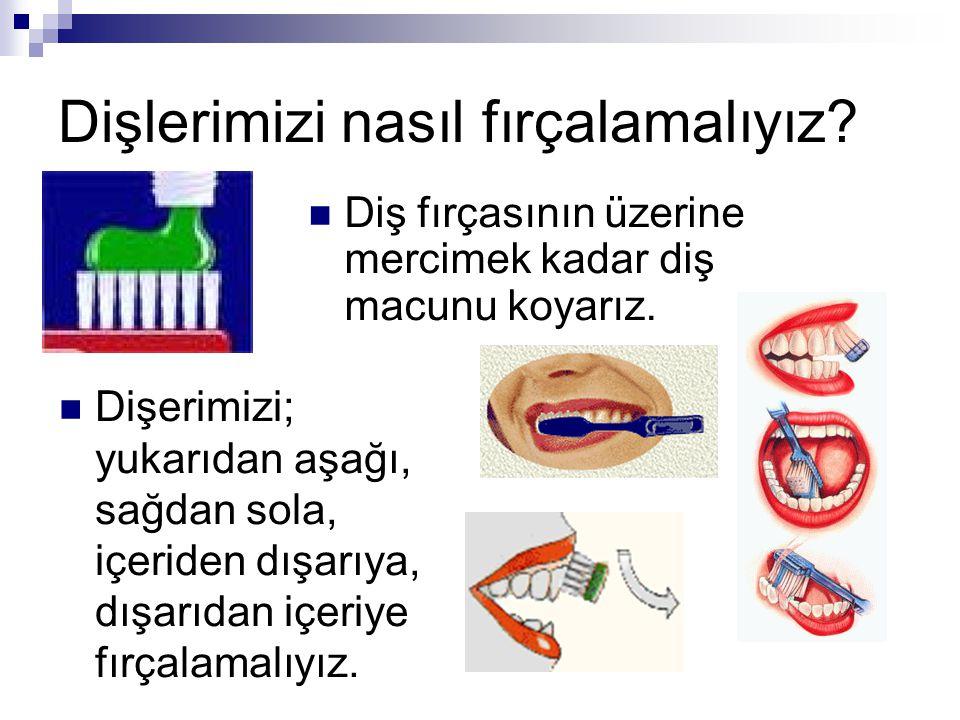 Dişlerimizi nasıl fırçalamalıyız