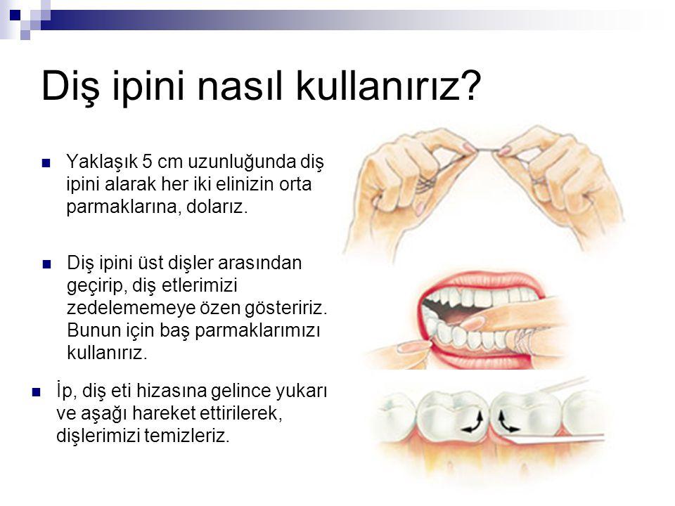 Diş ipini nasıl kullanırız