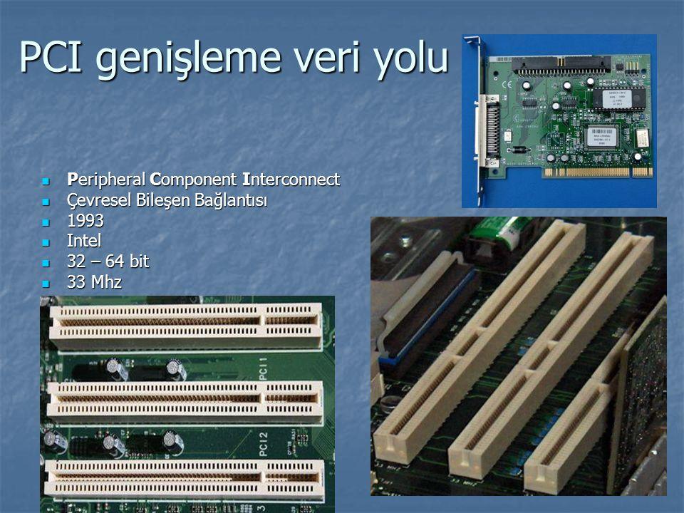 PCI genişleme veri yolu