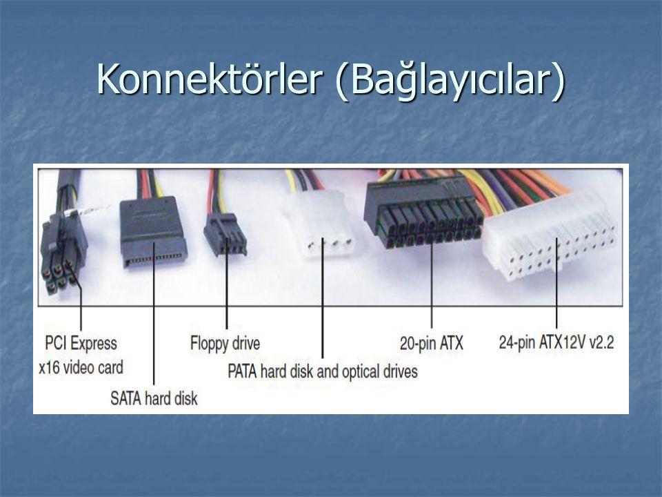 Konnektörler (Bağlayıcılar)