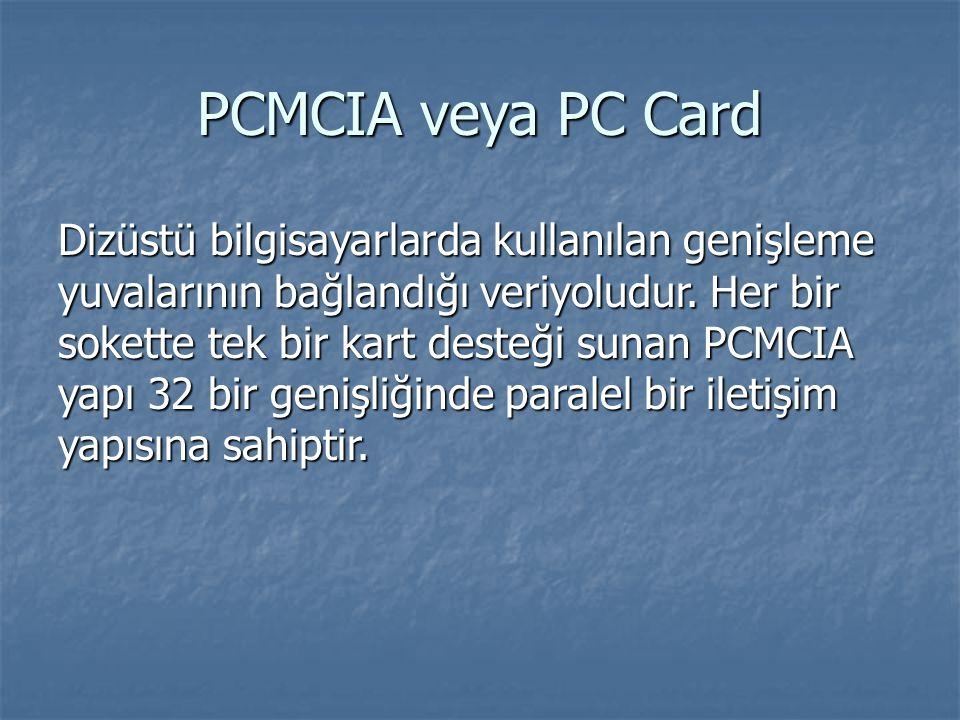 PCMCIA veya PC Card