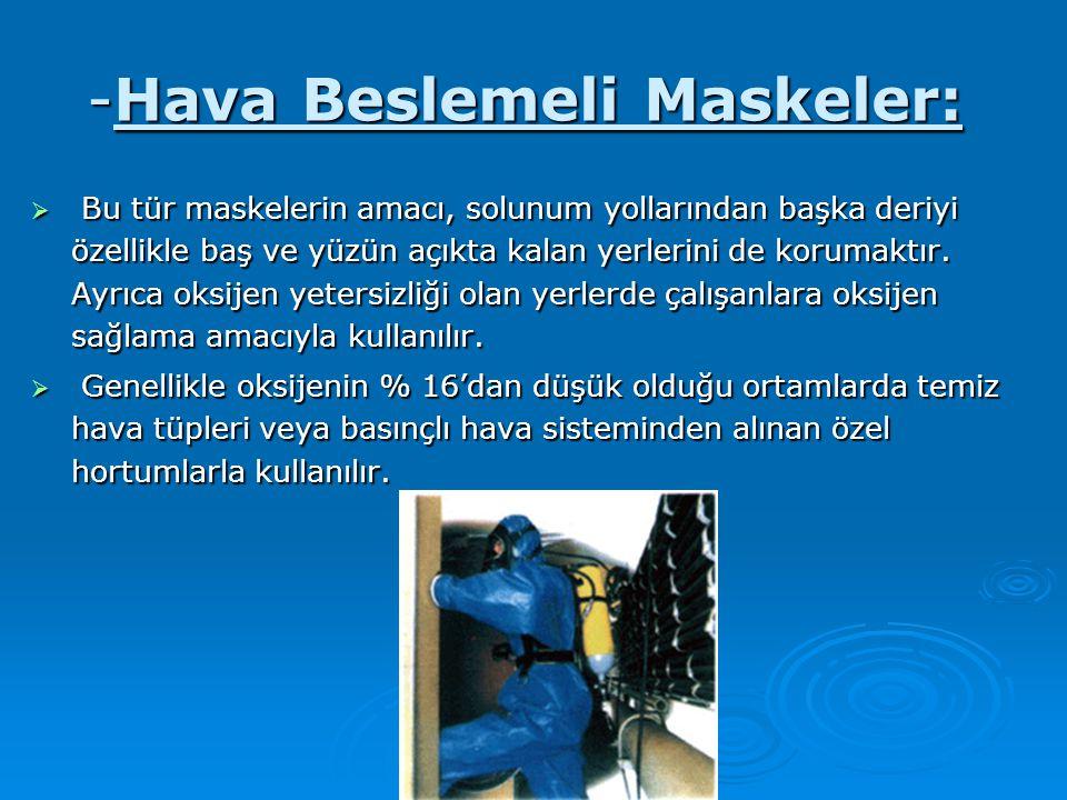 -Hava Beslemeli Maskeler: