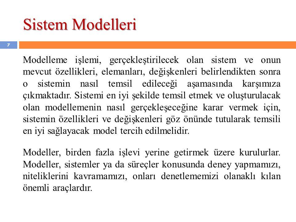 Sistem Modelleri