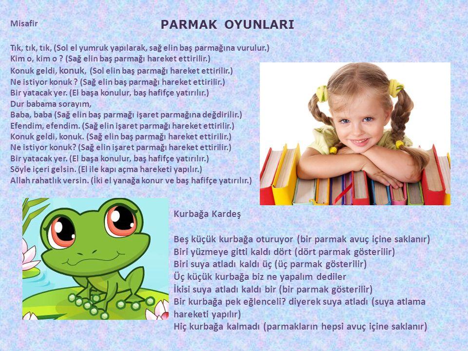 PARMAK OYUNLARI Kurbağa Kardeş