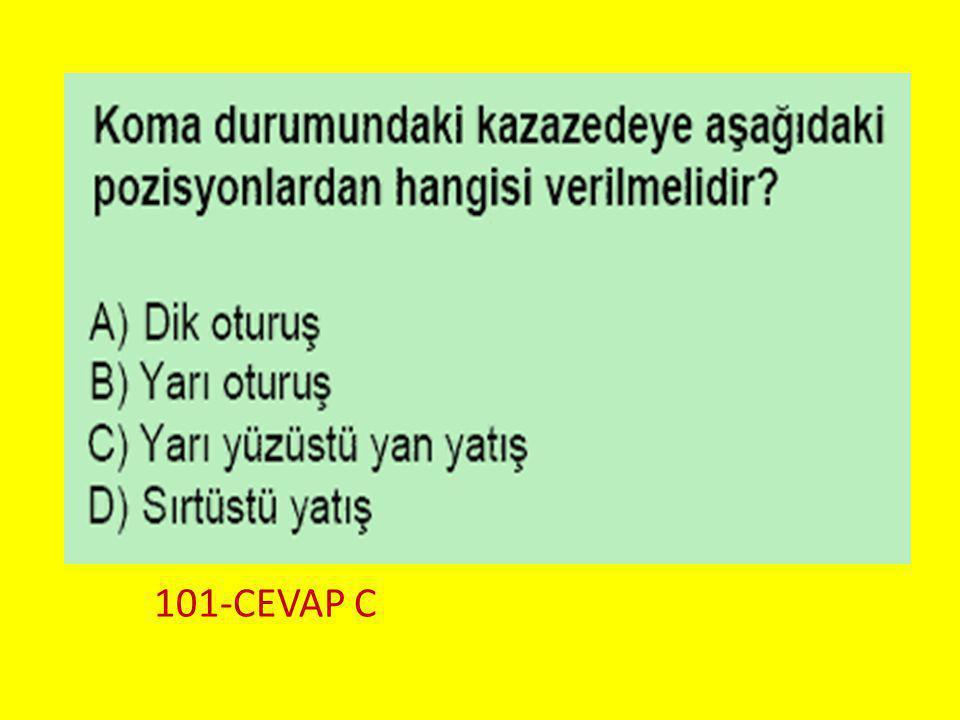 Soru 12.. 101-CEVAP C