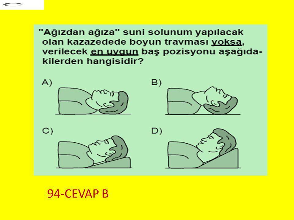 Soru 5.. 94-CEVAP B