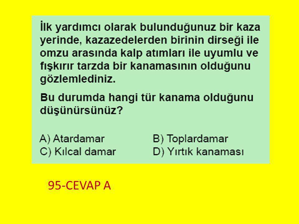 Soru 6.. 95-CEVAP A
