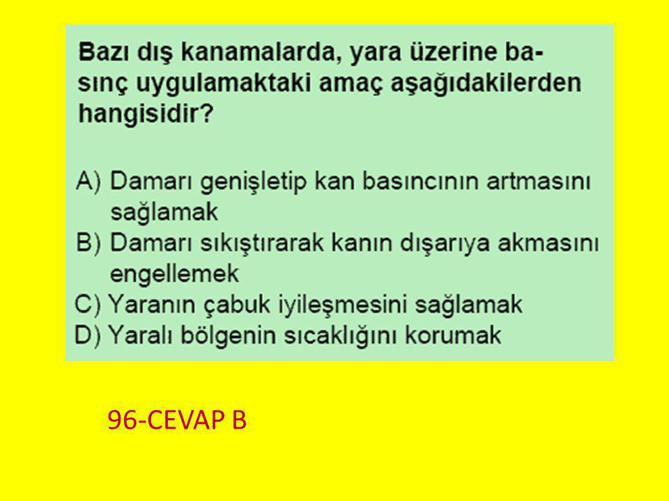 Soru 7.. 96-CEVAP B