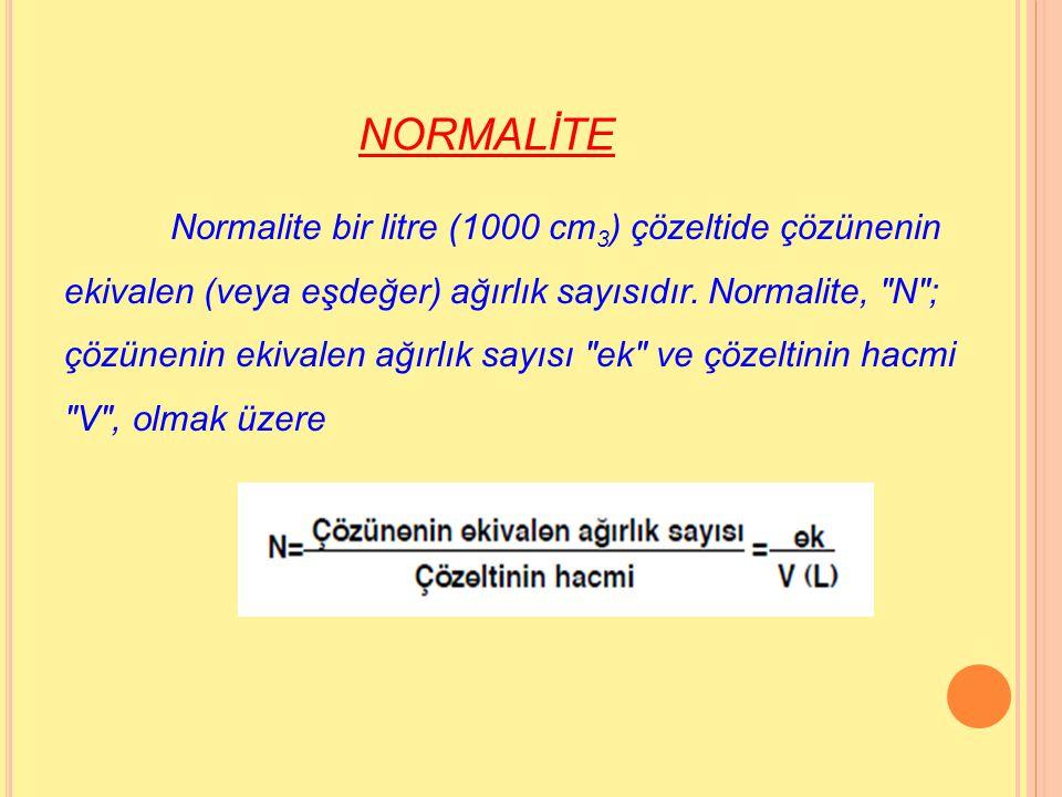 NORMALİTE