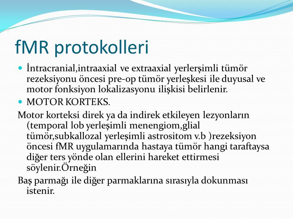 fMR protokolleri