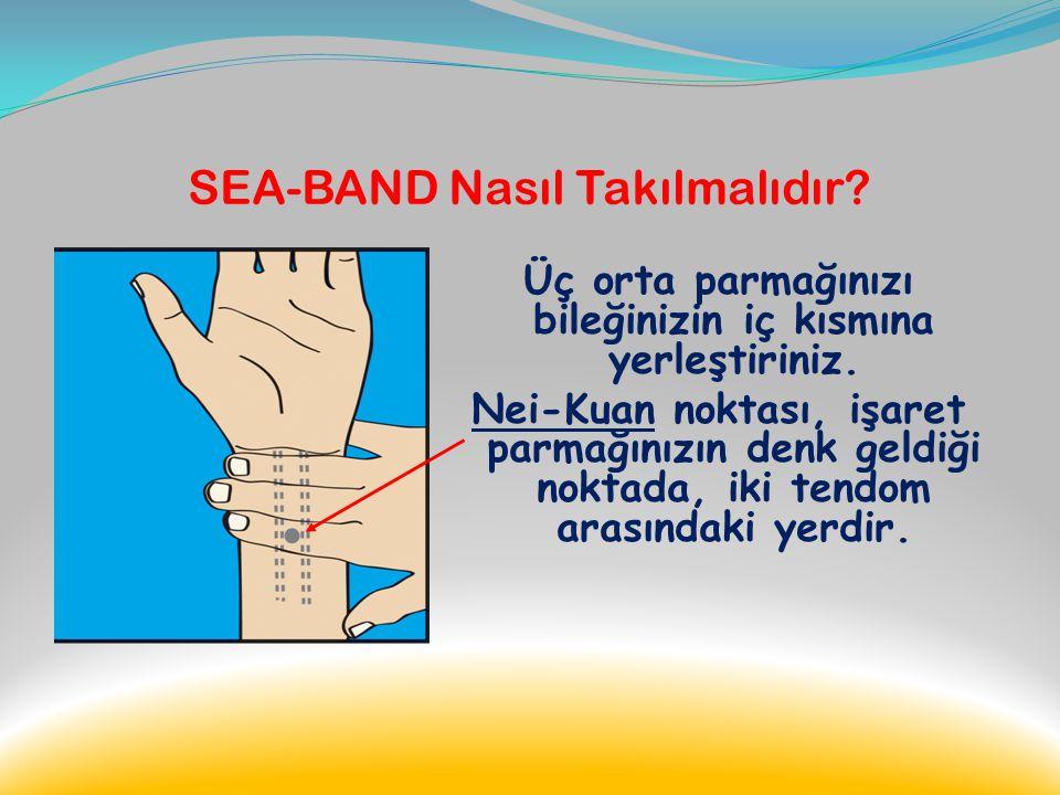 SEA-BAND Nasıl Takılmalıdır
