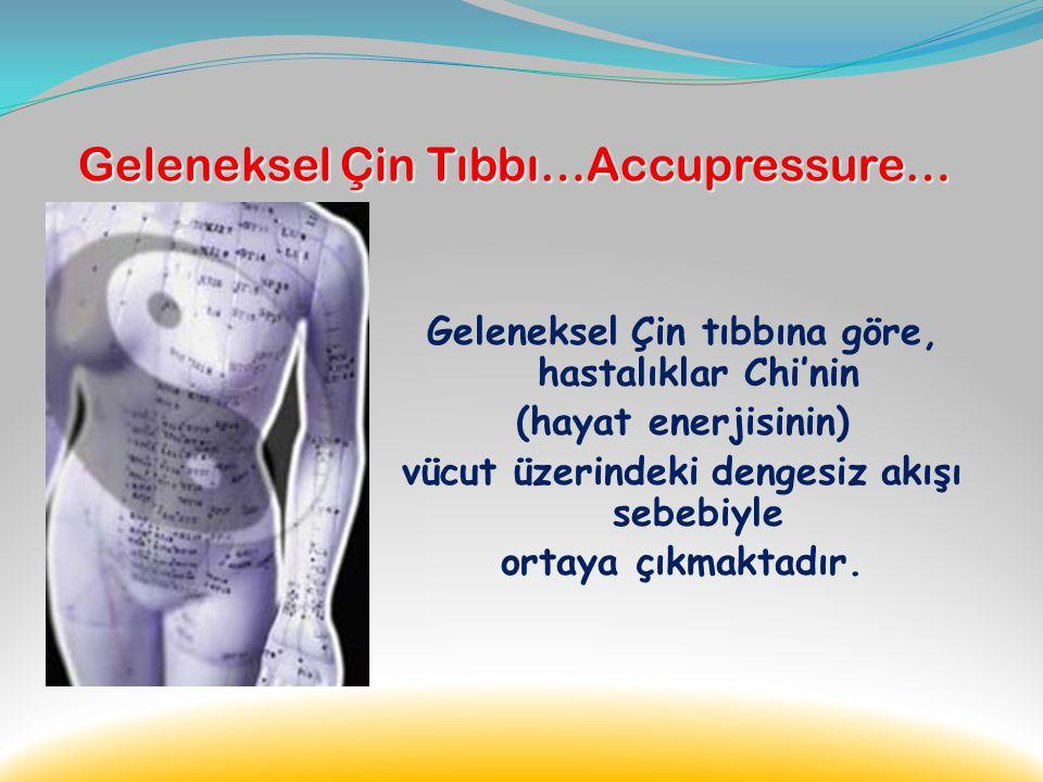 Geleneksel Çin Tıbbı…Accupressure…