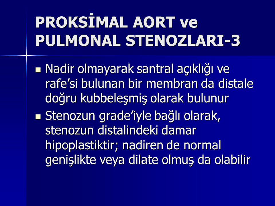 PROKSİMAL AORT ve PULMONAL STENOZLARI-3